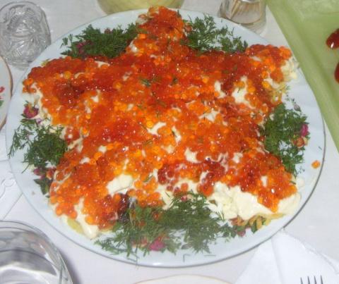 Новый русский салат