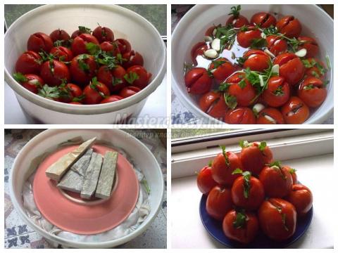 Kвашеные помидоры: лучшие рецепты