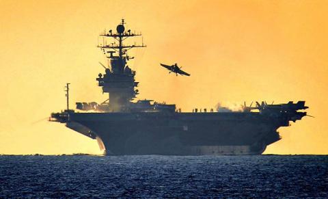 Шестой флот ВМС США. Инфографика