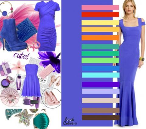 Как сочетать цвета в одежде… Отличная шпаргалка для всех!