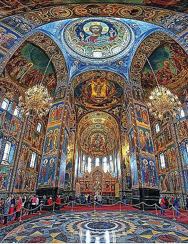 Храм Спас-на-крови в Петербу…