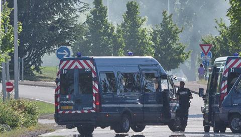 Франция, Марсель: автомобиль…