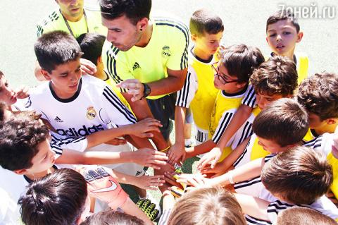 Футбольный лагерь «Реал Мадр…
