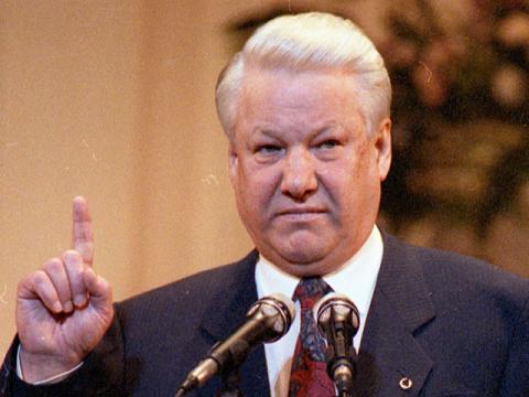 Как Борису Ельцину три раза …