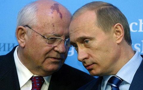 Горбачёв и Путин: сходство з…