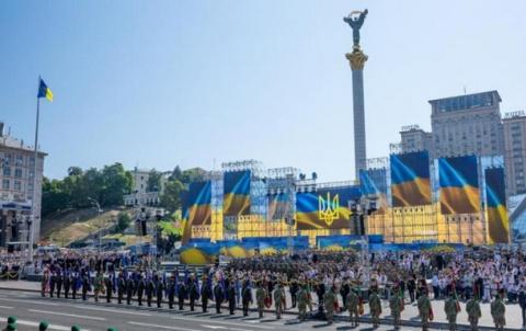 В параде в Киеве собираются принять участие девять стран НАТО