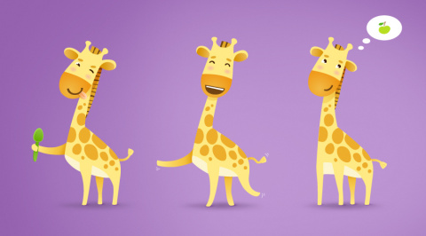Жирафики для самых маленьких