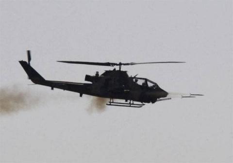 Вертолёт ВВС Израиля нанёс у…