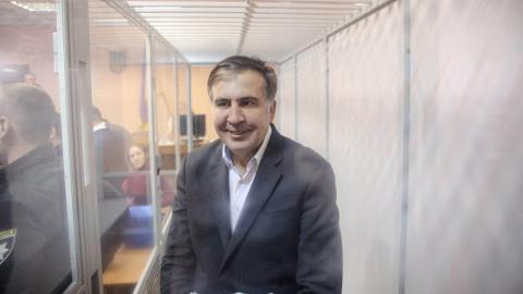Саакашвили освобожден из-под…