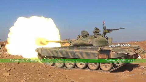 Армия Сирии и ВКС РФ наступа…
