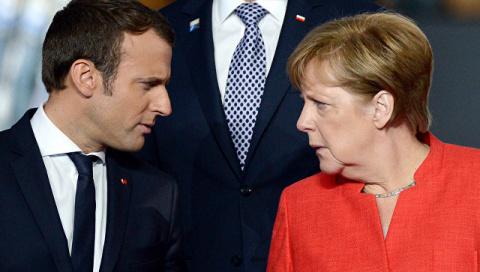 Меркель и Макрон озабочены н…