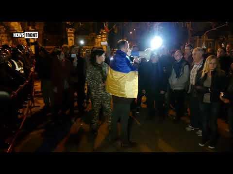 МихоМайдановцы принесли Порошенко новые требования