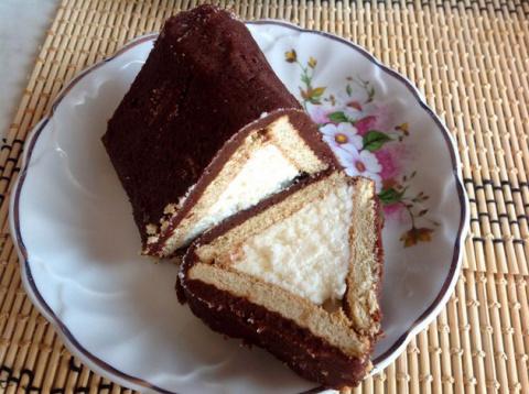 """Творожный торт """"Домик"""" без выпечки"""