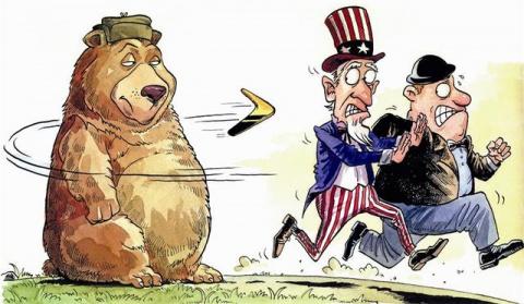Новые американские санкции: целились в Россию, а попали в ЕС. Александр Роджерс