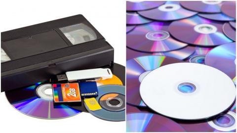 Нашел стопку старых дисков —…
