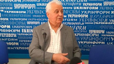 Кравчук: Россия и Украина должны сесть за стол переговоров..