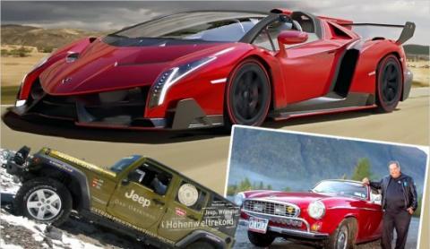 Необычные автомобили :: Автомобильные рекорды