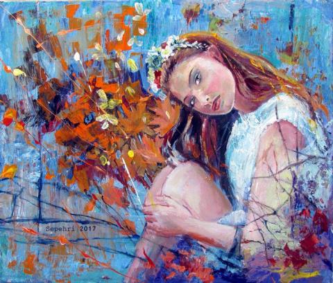 Как хочется душевной красоты… Afshin Sepehri