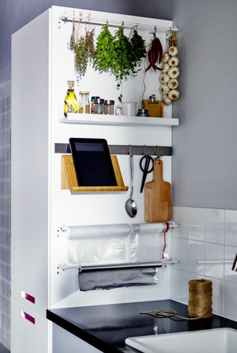 оригинальных эргономичных решений, которые помогут существенно расширить возможности маленьких кухонь