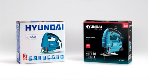 Агентство «Остров Свободы» обновило дизайн упаковки электроинструментов Hyundai