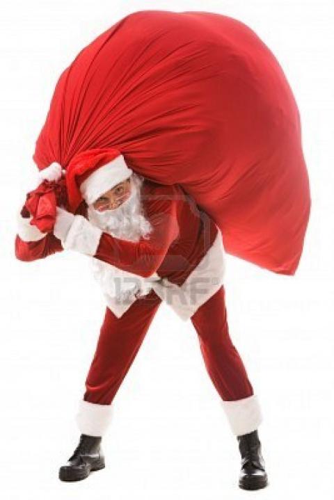Новогодние подарки от Деда Мороза.