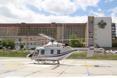 Уникальный вертолёт для сана…