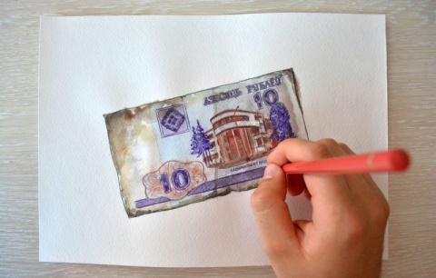 Кто рисовал советские рубли?