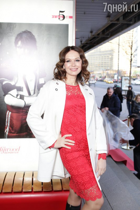 Ирина Безрукова посетила Аллею звезд