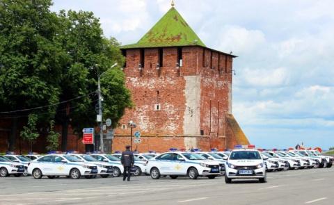 Полиция Нижегородской области получила 79 новых автомобилей и 10 мотоциклов