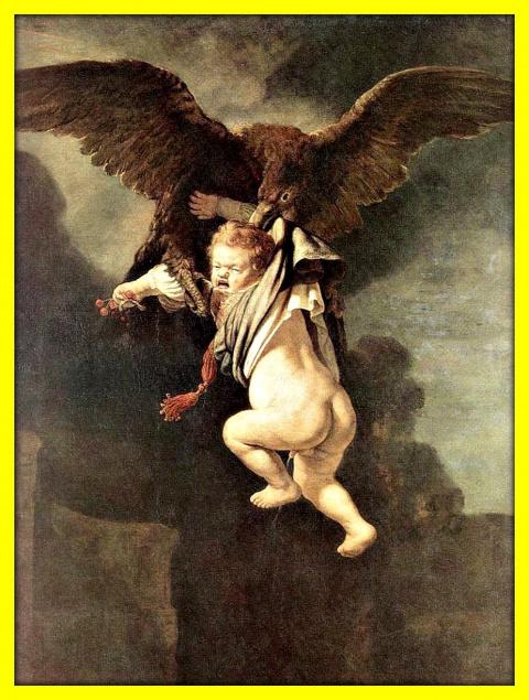 Ганимед в когтях орла.1635г.