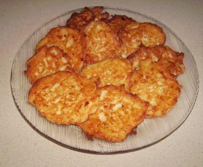 Картофельные оладьи с грибами (персонально для Яны)