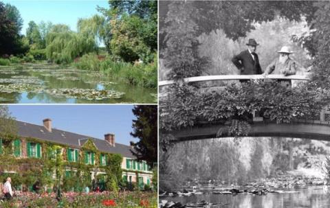 «Сад — это его мастерская, его палитра»: Усадьба Живерни, откуда черпал вдохновение Клод Моне