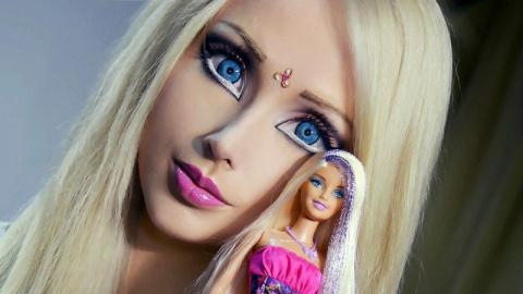Помните эту «Одесскую Барби»? Вот как она выглядит без макияжа