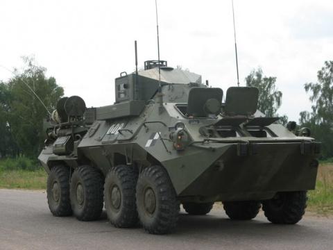 В подразделения связи Западного военного округа поступили современные командно-штабные машины