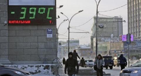 Аномальные морозы начали наступление на российские регионы