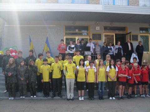 12 жовтня в КЗШ № 114  радісна подія -  оновлена спортивна зала готова прийняти школярів.