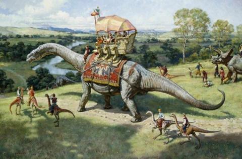 Цивилизации эпохи динозавров