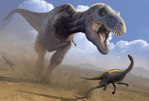 Топ самых опасных динозавров…