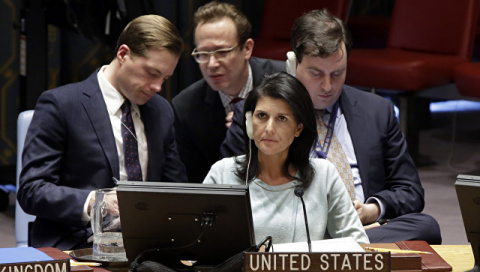 Российские дипломаты ответили на обвинения постпреда США в ООН