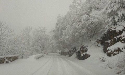 Ай-Петри засыпало снегом