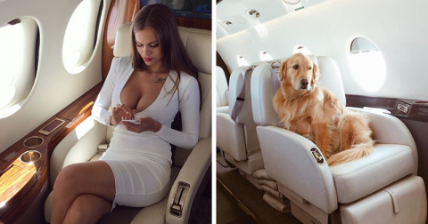 Обмани Инстаграм красиво: русская компания продает фотосессии в частном самолете