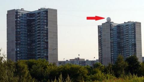 Вот зачем нужны эти белые шары на крышах многоэтажек