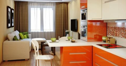 Кухня-гостиная - лучшие идеи…