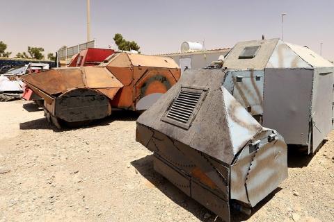 В Ираке захватили железобето…