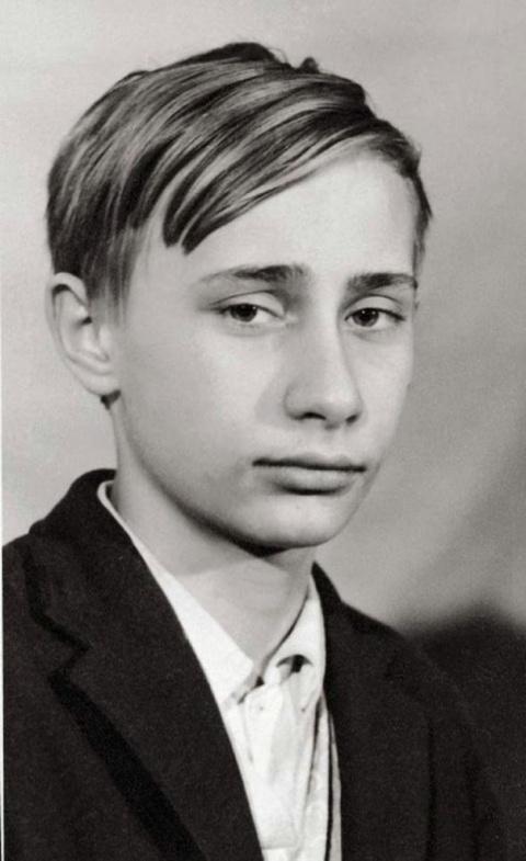 Мировые лидеры в детстве и юности