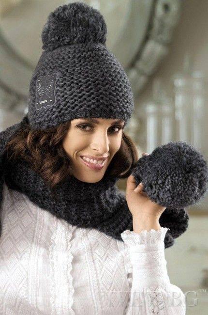 Интересные идеи для вязания шапочек