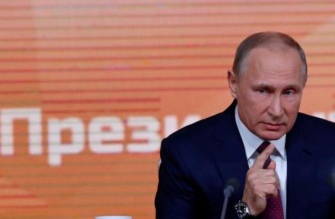 Пресс-конференция Путина как…