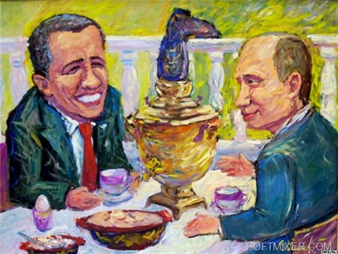 Русская еда зубами иностранцев (не рецепт)