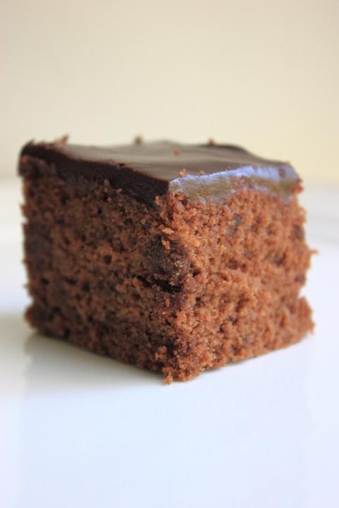 Пирог гречнево - шоколадный