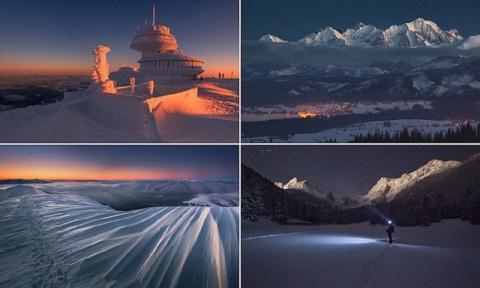 Невероятная красота зимней Польши